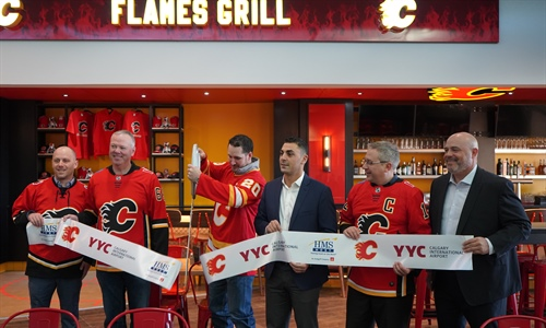 Flames Grill sizzles at YYC!